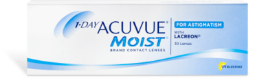 1-DAY ACUVUE® MOIST® for Astigmatism | 30pk