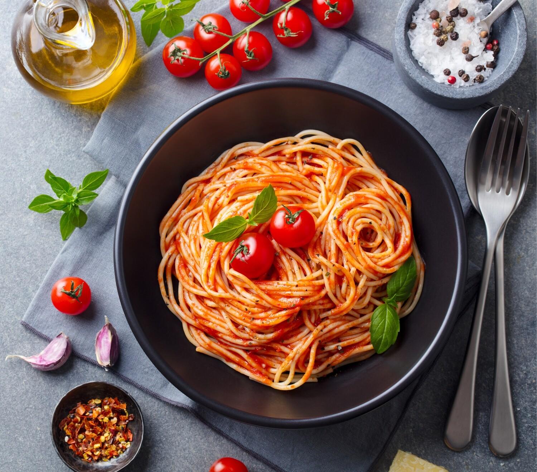 Spaghetti Pomodoro (VEGAN)