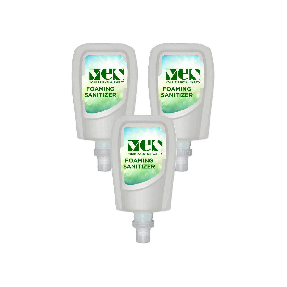 Foaming Sanitizer Refill Cartridges — sold as a 3-pack