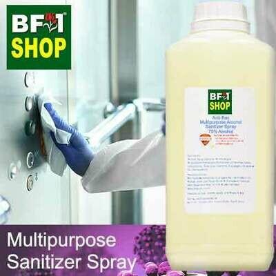 Anti-Bac Multipurpose Alcohol Sanitizer Spray ( 75% IPA Alcohol ) - 1L