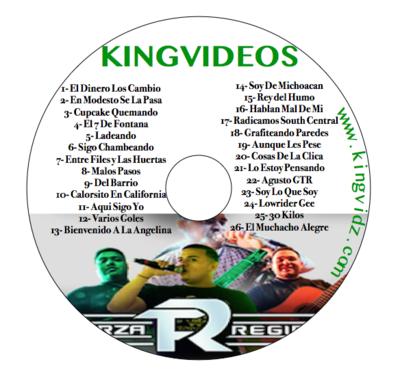 Fuerza Regida DVD