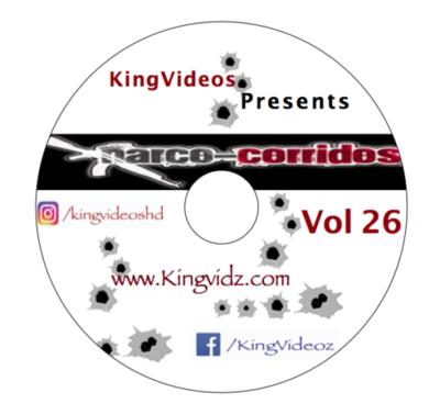 2020 - CORRIDOS VOL 26 DVD