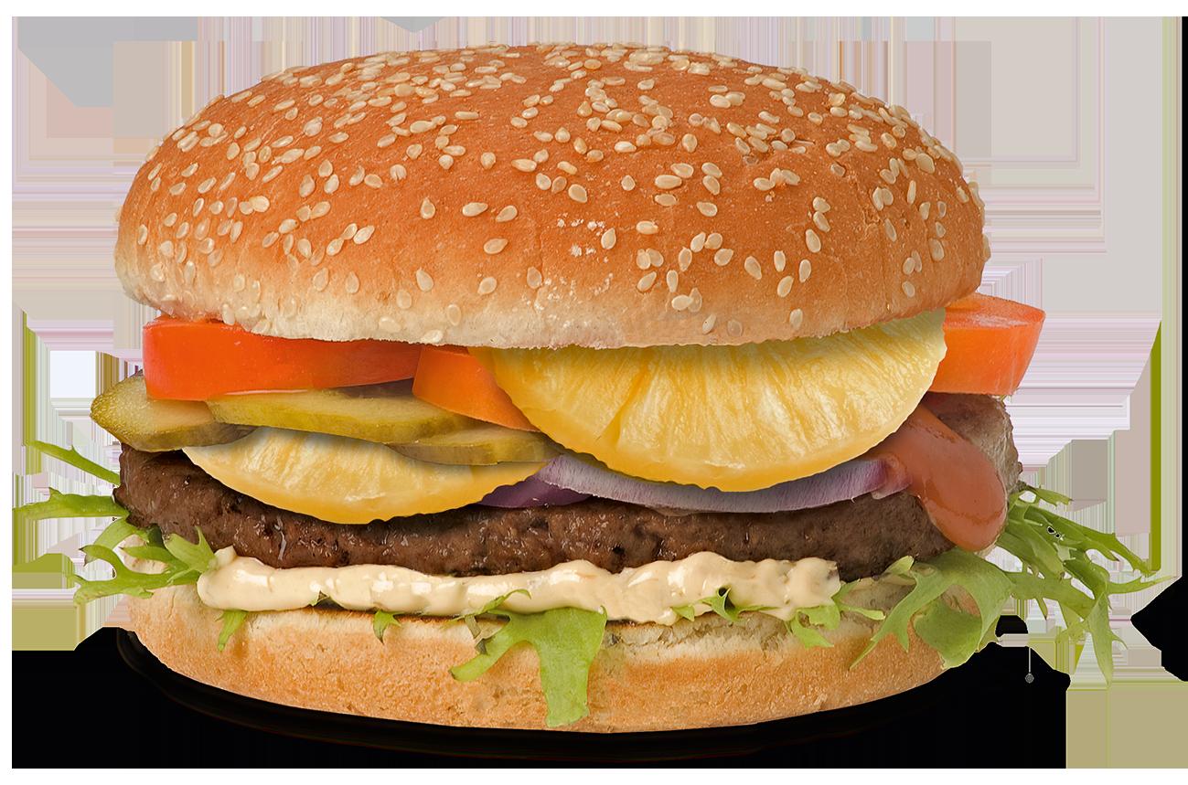 Pineapple Burger