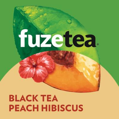 Fles Fuze Tea Peach Hibiscus