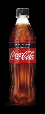 Fles Coca Cola Zero