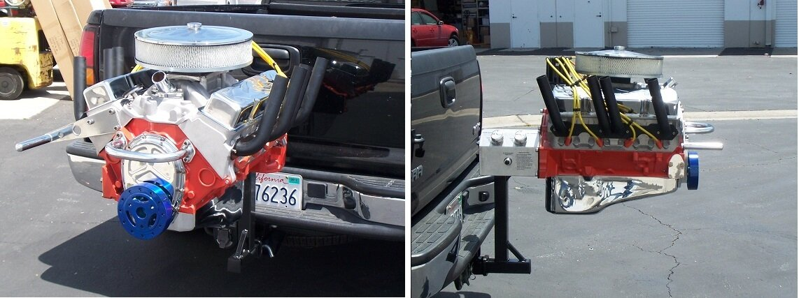 Hot Rod Grill Hitch Mount
