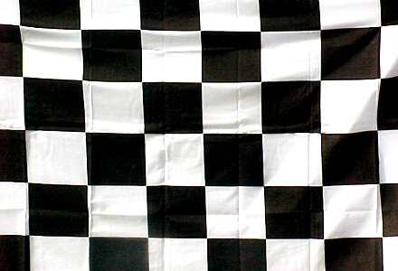 3' x 5' Flag - CHECKERED
