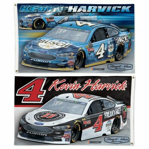 3' x 5' #29 Kevin Harvick Double-Sided Flag