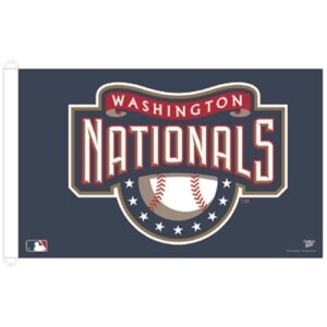 Washington Nationals MLB 3x5 Banner Flag