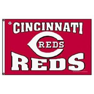 Cincinnati Reds MLB 3'x5' Banner Flag