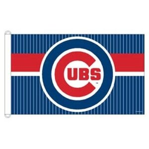 Chicago Cubs MLB 3x5 Banner Flag