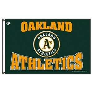 Oakland Athletics MLB 3'x5' Banner Flag