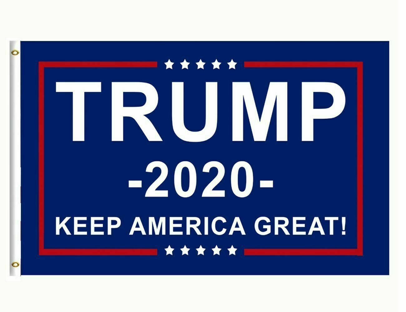 Trump 2020 Re-Election Flag 3x5 Keep America Great (NOW IN STOCK)