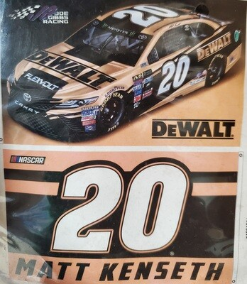 3' x 5' #20 Matt Kenseth Double-Sided Flag