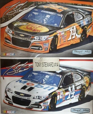 NEW 2013 #14 Tony Stewart 3x5' 2 sided Nascar Flag