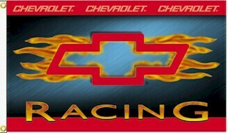 3' x 5' Chevy Racing Flame Flag