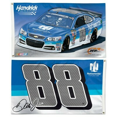 2015 #88 Nationwide Dale Jr 3x5 Two-Sided Flags