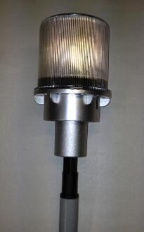 Multi-Color Flashing Solar Beacon
