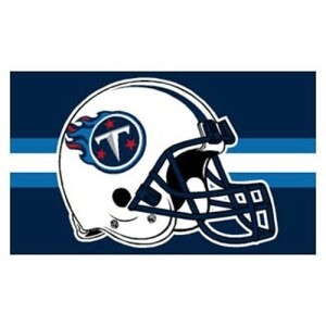 Tennessee Titans NFL 3x5 Banner Flag