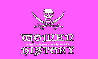 3' X 5' FLAG- PIRATE WOMEN HISTORY