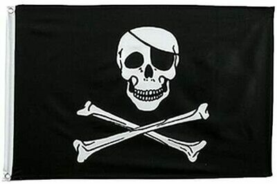 3' x 5' Flag - PIRATE