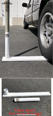 NEW Deluxe Tire Mount for 22' Pole