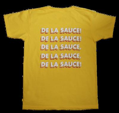 T-SHIRT - DE LA SAUCE - JAUNE