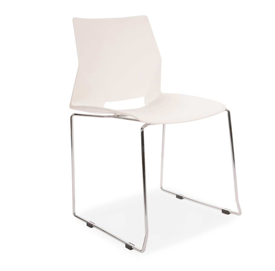 Classic Wooden Sofa Set, A Set Of 4 All Square Stack Able Plastic Dining Chairs In White Colour