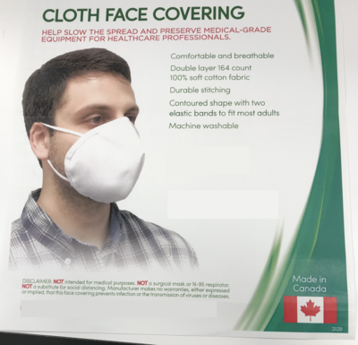 Face Mask Cloth Reusable
