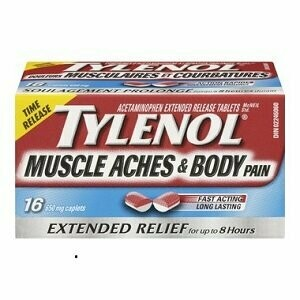 Tylenol Muscle Aches & Body Pain Caplets x16