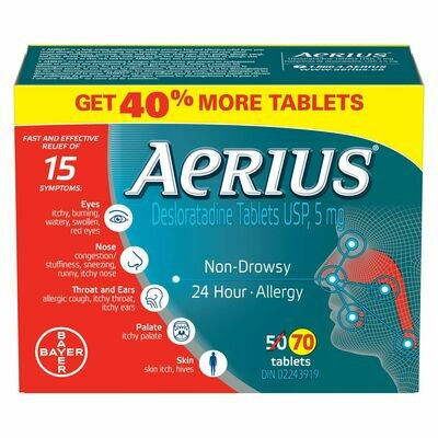 Aerius® 50+20 tablets