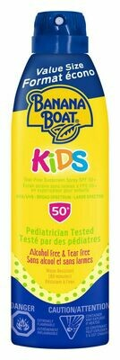 Banana Boat® Kids Tear Free Sunscreen Spray SPF 50+ 226grams