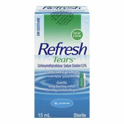 Refresh Tears Lubricating Eye Drops 15ML