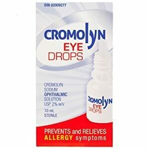 Cromolyn Allergy Eye Drops 10ML