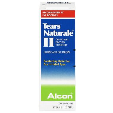 Tears Naturale II Polyquad Lubricant Eye Drops 15ML
