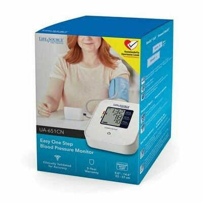 LifeSource Easy One Step Blood Pressure Monitor