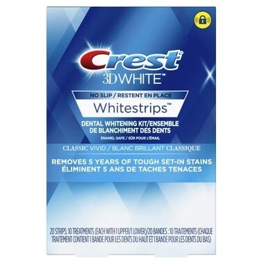 Crest 3D White Whitestrips Classic Vivid (10 treatments)