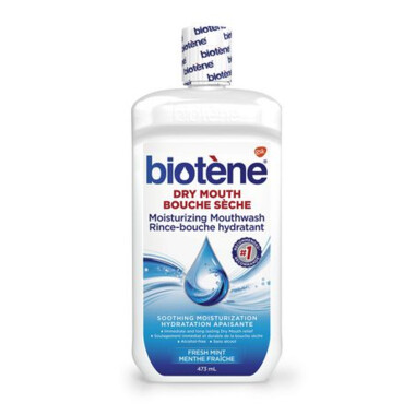 Biotene Dry Mouth Moisturizing Mouthwash Alcohol-Free 473ML