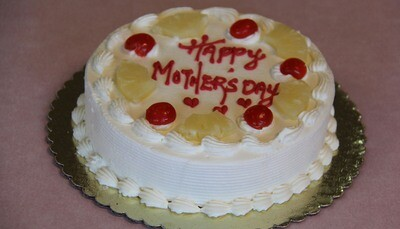 Pineapple - Cake - Eggless