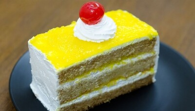 Pineapple - Pastry - Eggless