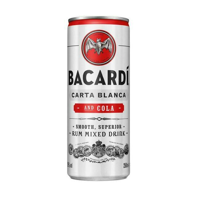 Bacardi Cola 250ml