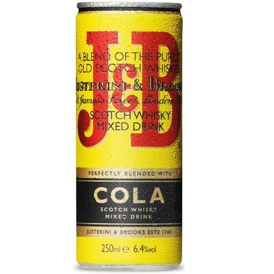 J&B Cola 250 ml