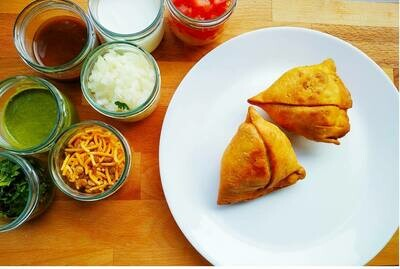 5 Punjabi Samosas (Spicy) ✅ COMING SOON