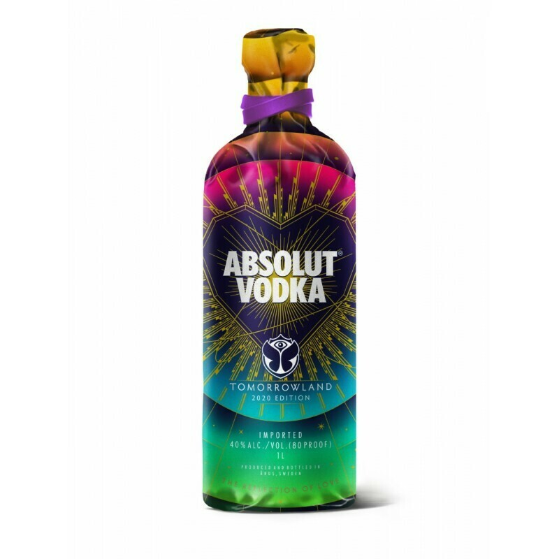 Absolut Vodka Tomorowland Limited Edition