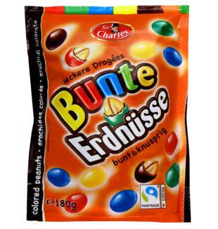 Bunte Endnüsse Chocolate