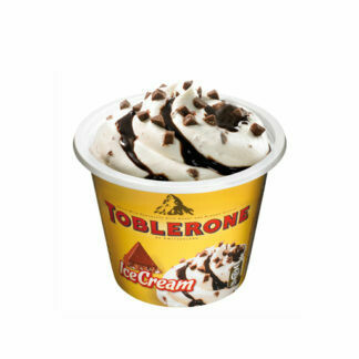 Toblerone Ice Cup