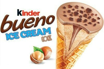 Kinder Bueno Ice Cream Cone