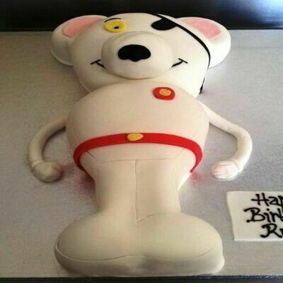 Dangermouse Cake