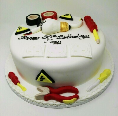 Sparks (Electricians) Cake