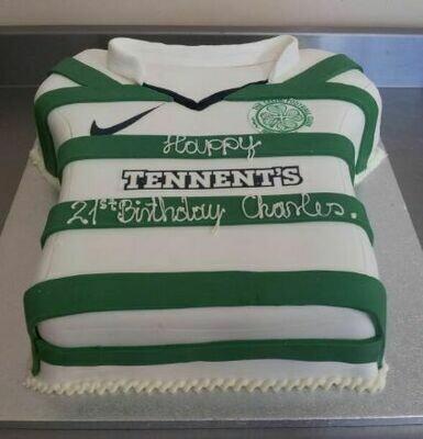 Celtic Jersey Cake